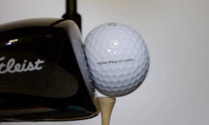 Why a ball will travel further before it can stop?